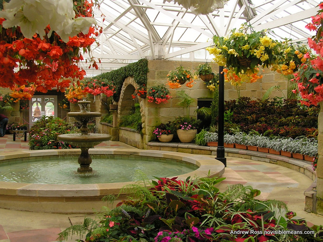 The Conservatory at the Royal Tasmanian Botanical Gardens